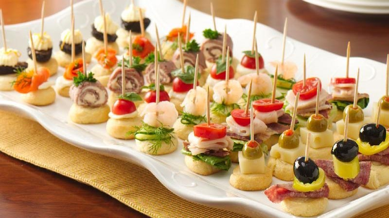 Holiday appetizers moore farms botanical garden - Aperitivos para baby shower ...